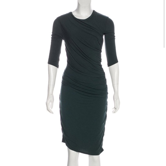 Helmut Lang Dresses & Skirts - Helmut Lang ruched stretch dress
